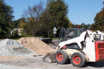 Excavator & Bobcat